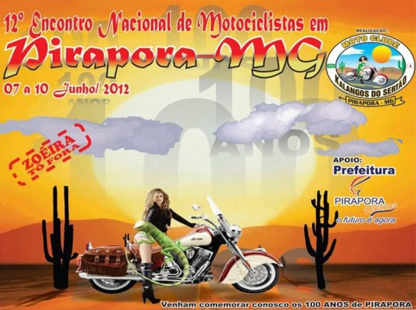 Encontro De Motociclistas em Pirapora-MG